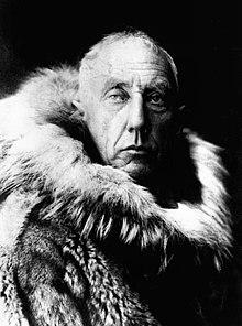 His rival Roald Amundsen