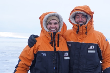 Antarctica - the beginning of beautiful friendships