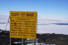 Still quite far to the South Pole