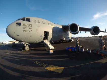 "The C-17 ""ready for take-off"""