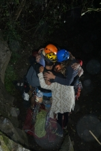 One group hug and we were ready to go