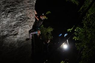 Nightclimbing at Globewall
