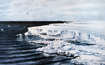 Wilson's painting of the Terra Nova Bay